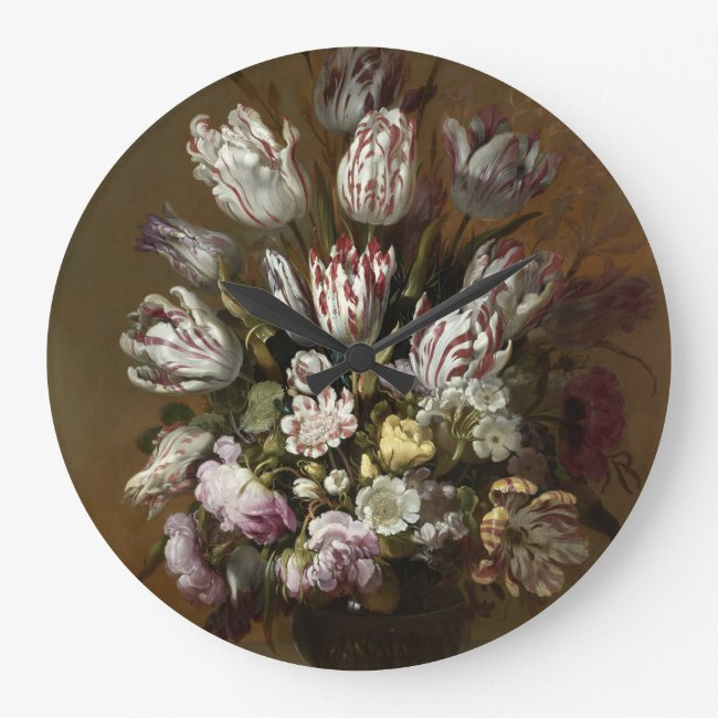 Elegant Floral Bouquet - Vintage Dutch Fine Art