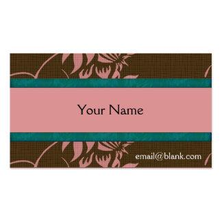 Elegant Floral Business Cards template