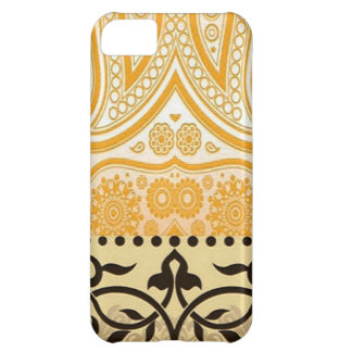Elegant Floral Cover For iPhone 5C