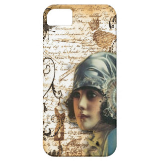 elegant floral girly vintage paris fashion iPhone 5 covers