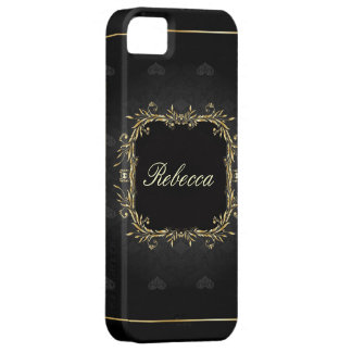 elegant floral girly vintage paris fashion iPhone 5 cover