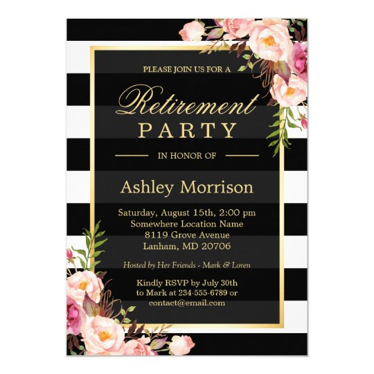Retirement Invitations 3600 Retirement Announcements Invites – Invitation to Retirement Party