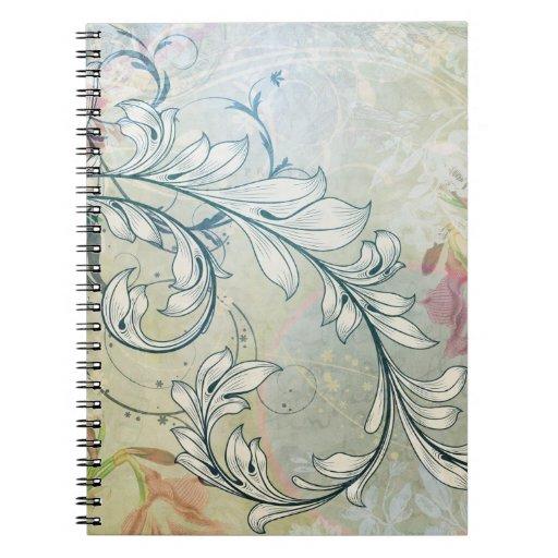 Elegant Floral Notebook