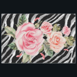 """Elegant Floral Silver Tiger Tissue Paper<br><div class=""""desc"""">Elegant Floral Silver Tiger Tissue Paper - See our other products and collections,  choose a gift for you and your dear ones. Thanks for buying in our store. Come again. :)</div>"""