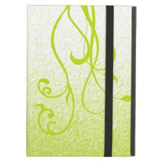 Elegant Floral & Vines iPad Air Covers