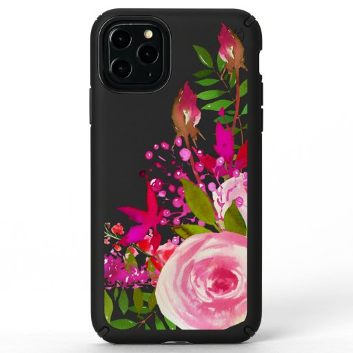Elegant Floral Watercolor Speck iPhone 11 Pro Max Case