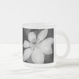 Elegant floral wedding favor mug
