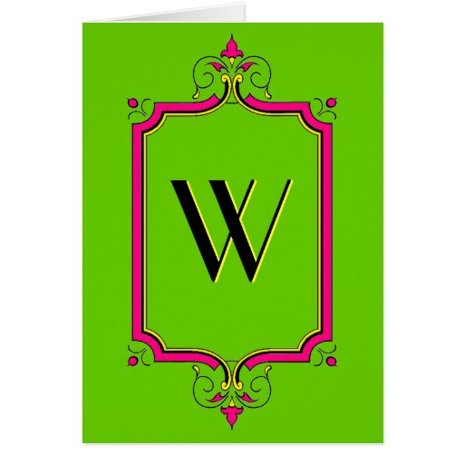Elegant Flourish Frame Cards