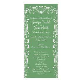 wedding programs templates