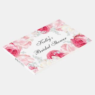 Elegant Flower Bridal Shower Guest Book