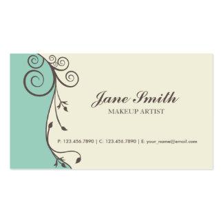 Elegant Flower Floral Retro Modern Stylish Classy Business Card Templates