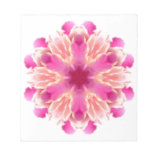 elegant flower peach pink white by healing love notepads