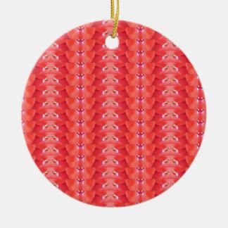 Elegant Flower Petal CherryHILL NVN216 NavinJOSHI Christmas Tree Ornaments