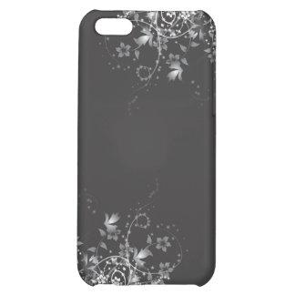 Elegant Flowers BW #2 iPhone 5C Cover