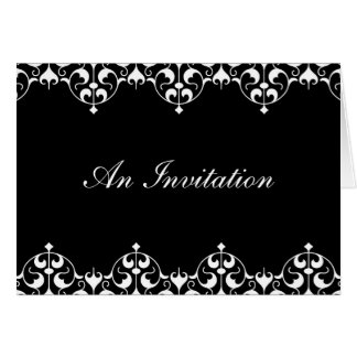 Elegant Folded Invitation - The KATE Collection Stationery Note Card