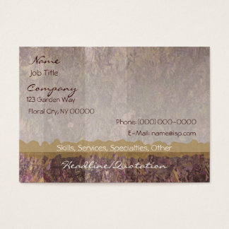 Elegant Foliage Business Card