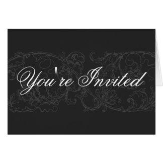 Elegant & Formal Invitation Card