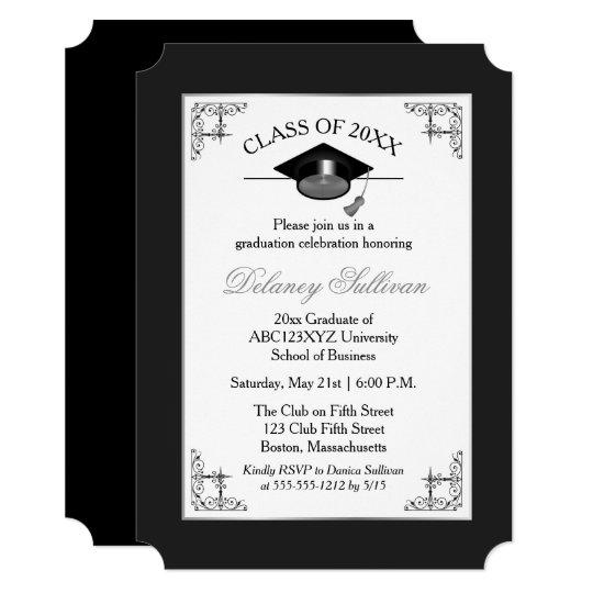 White College Graduation Party