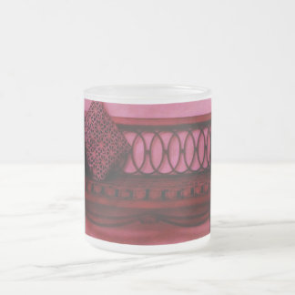 Elegant Foyer Settee Seat Mirror Interior Design Frosted Glass Coffee Mug