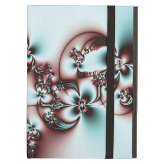 Elegant Fractal Flowers iPad Air Cases