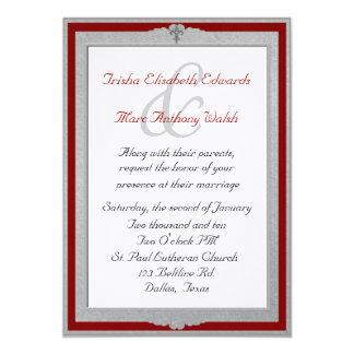 Elegant Framed Wedding Invitation