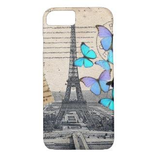 elegant french art paris eiffel tower iPhone 7 case