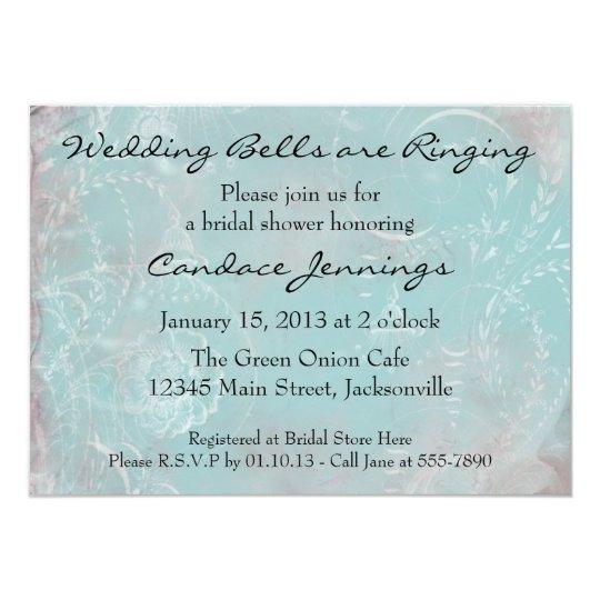 Elegant French Blue Toile Custom Invitation