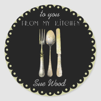 """Elegant """"From My Kitchen"""" Gift Labels"""