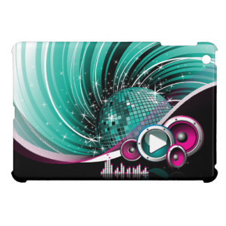 Elegant Funky Girly Disco Ball Vector Cover For The iPad Mini