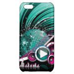 Elegant Funky Girly Disco Ball Vector iPhone 5C Cover