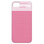 Elegant Funny Polka Dot Wedding Cell Phone Case iPhone 5 Cases