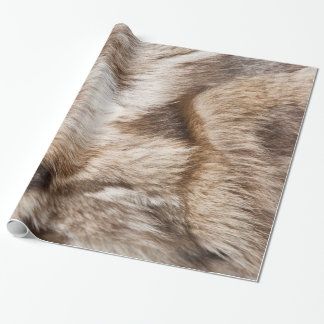 Elegant fur texture wrapping paper