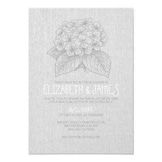 "Elegant Garden Wedding Invitations 5"" X 7"" Invitation Card"