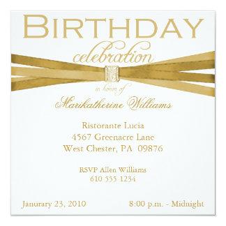 Elegant Generic Birthday Party Invitations