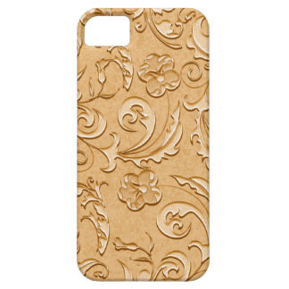 Elegant Gentle Golden Scrolls iPhone SE/5/5s Case