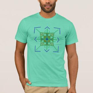 Elegant Geometric Design Shirt
