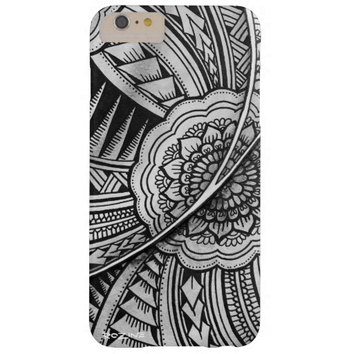 Elegant Geometric Pattern Ethnic Exotic Mandala    Barely There iPhone 6 Plus Case