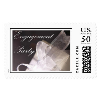 Elegant Gift (1) Engagement Party Postage