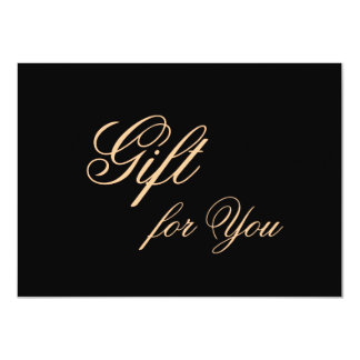 Elegant Gift Card for Meaningful Gifts