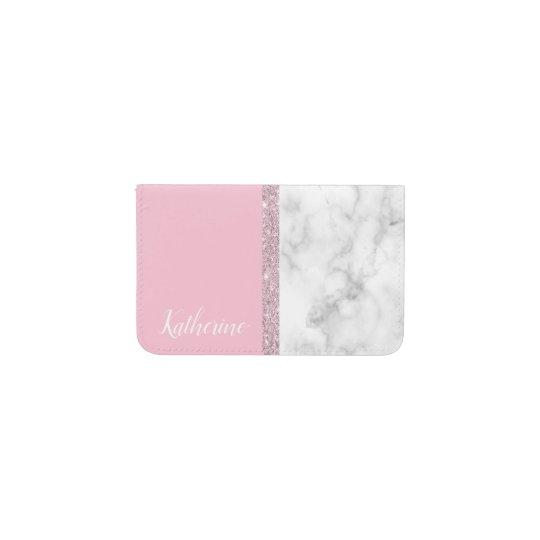 Elegant girly rose gold glitter white marble pink business card elegant girly rose gold glitter white marble pink business card holder colourmoves