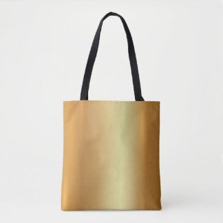 Elegant Glamour Gold Light And Shadow Modern Look Tote Bag