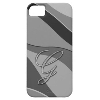 Elegant Glass Monogram Letter G iPhone 5 Case