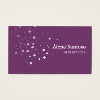 Elegant Glitter Business Card