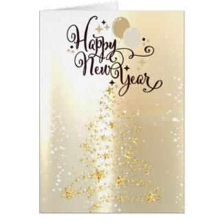Elegant Glittery Christmass Tree Card