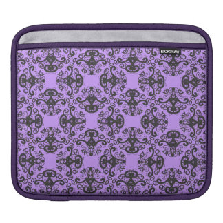 Elegant Goddess Damask Pattern iPad Sleeve