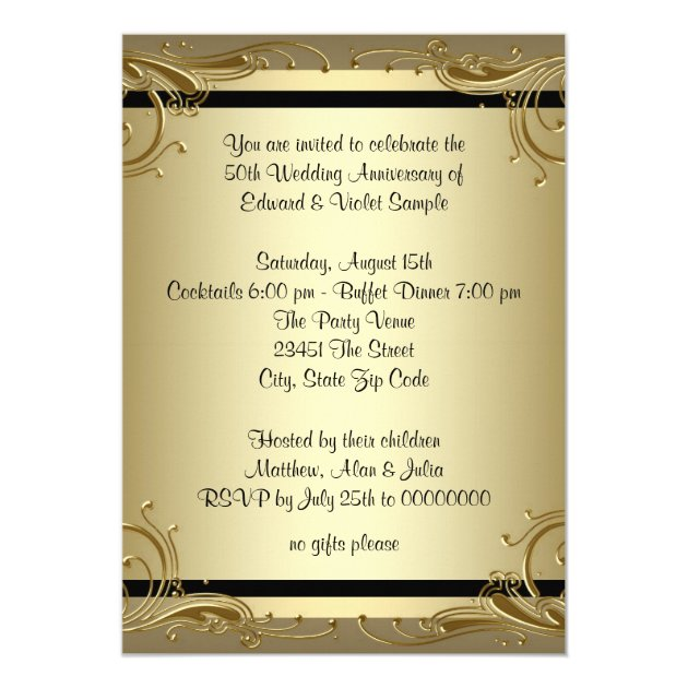 40Th Wedding Anniversary Party Invitations was Perfect Ideas To Create Cool Invitations Sample