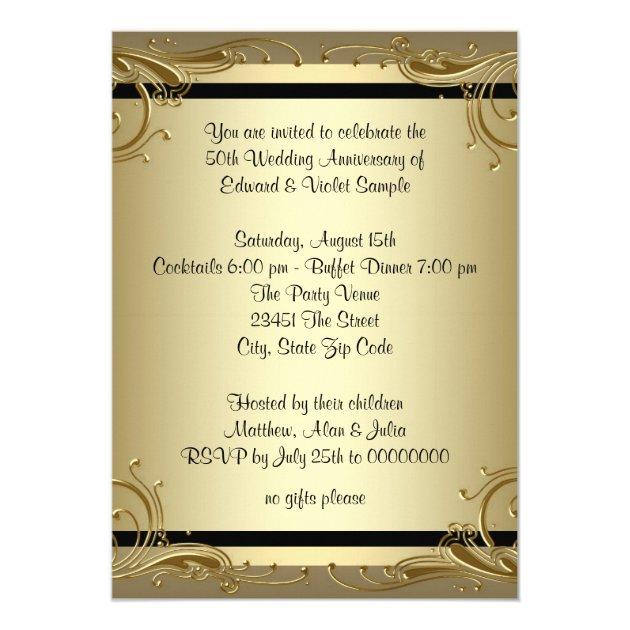 Golden Birthday Invitations with luxury invitations layout