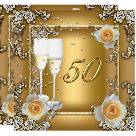 Открытка с золотой свадьбой шаблон, улыбнитесь все