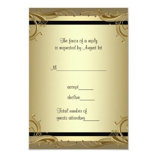 Elegant Gold 50th Wedding Anniversary...