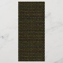 Elegant Gold and Black Small Polka Dots Pattern